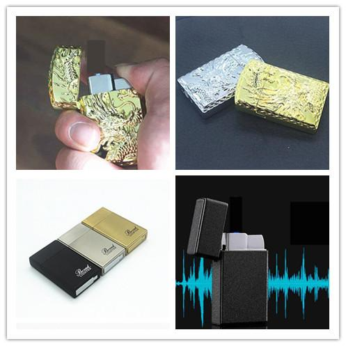 Newest Gold Dragon Black Shaped Jet Butane Lighters Windproof Inflatable Smoking Cigarette Lighter No Gas 3 Styles Choose Kitchen Tools