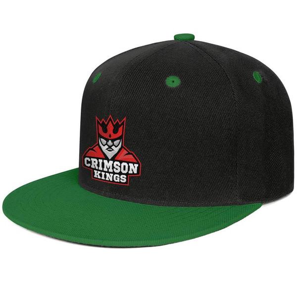 King Crimson logo Design Hip-Hop Cap Snapback Flat Brim Trucker Hat Crazy Adjustable