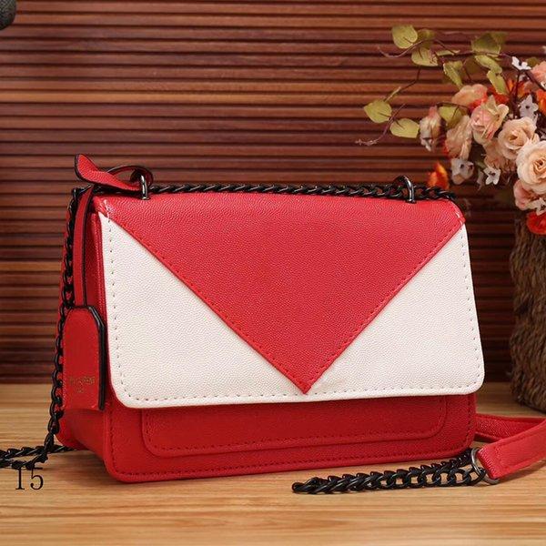 S # fabbrica all'ingrosso libero di trasporto designer di lusso borse borse semplice catena lettera bag decorazione delle signore di colore borse a tracolla di corrispondenza