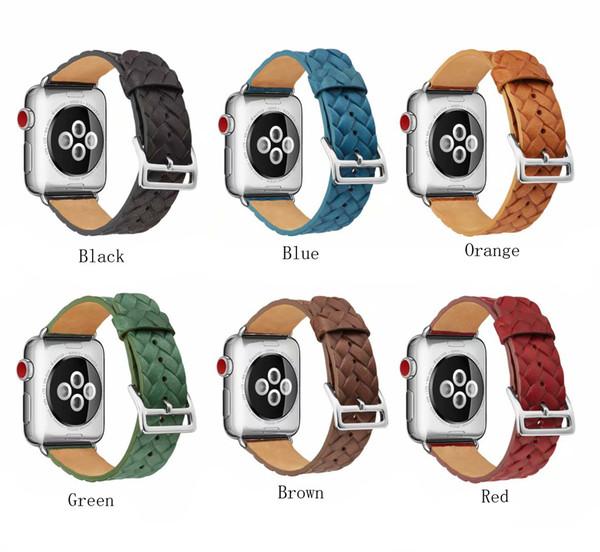 Кожаный ремешок для тиснения Кожаный ремешок для часов для Apple Watch Band Series 4/3/2/1 Спортивный кожаный браслет 42 мм 38 мм Ремешок Для ремешка iwatch