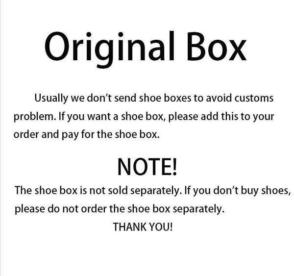 1 boîte à chaussures