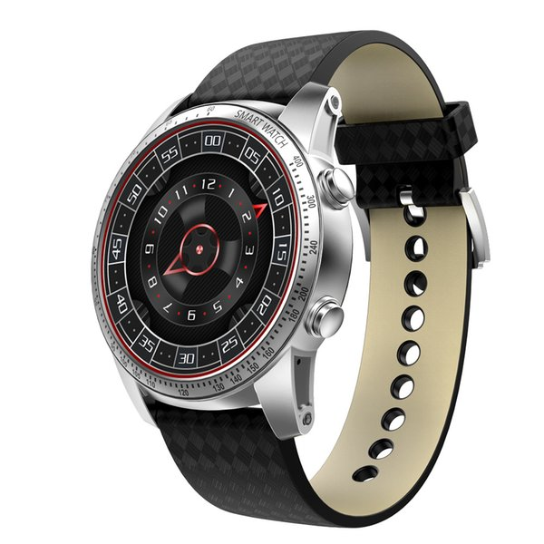 KW99 3G Smartwatch Téléphone Android 5.1 MTK6580 Quad Core 8GB ROM Moniteur de fréquence cardiaque Podomètre GPS Wifi Bluetooth Anti-perdu Smart Watch