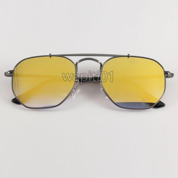 Gun-Metal / Gold Mirror Gradient