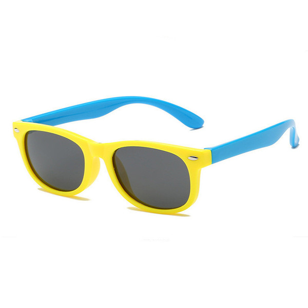 Nail Silicone Safety Software Polarized Cat's Eye Children's Sunglasses Men's And Baby's Glasses Fashion