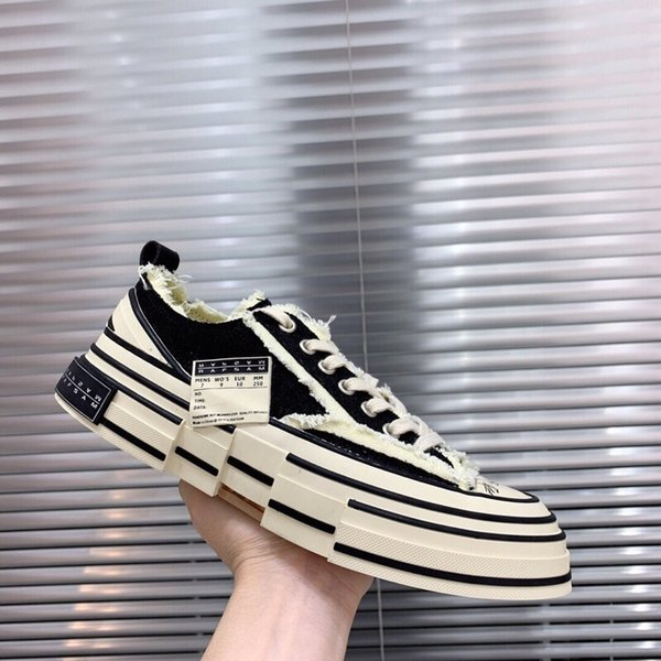 2019 high quality men and women casual shoes tide luxury design canvas shoes comfortable durable flat shoes yards 36-45