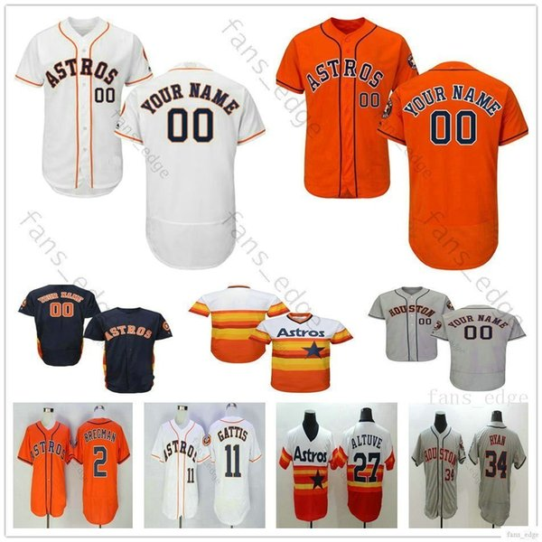 quality design ea1e0 82014 2019 Custom Houston #45 Gerrit Cole Astros 99 J.J. Watt 6 Jake Marisnick 5  Jeff Bagwell Man Woman Kids Youth Baseball Jerseys From Fans_edge, $16.26 |  ...