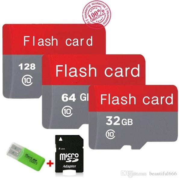 New Real Capacity Micro SD Card 128GB/64GB/32GB Class10 Memory Card Flash Memory Cartao Micro SDHC