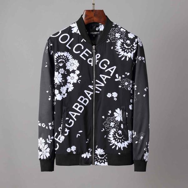 erkek tasarımcı ceketler Fermuar Medusa Coat rüzgarlık Erkek Moda Tasarımcısı Casual Dış Giyim Yüksek Kaliteli Ceket