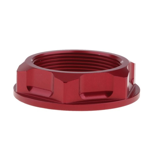 best selling Durable CNC Stainless Steel Steering Stem Nut Bolt for Honda CR125R 250R CRF450X Red
