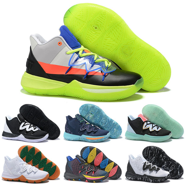ROKIT 5 V Friends Area 72 Ray Gun UFO Duke Oreo BHM Kyrie Chaussures de basketball Concepts Hommes 5s PE Petite Montagne CNY Ikhet Zoom Turbo