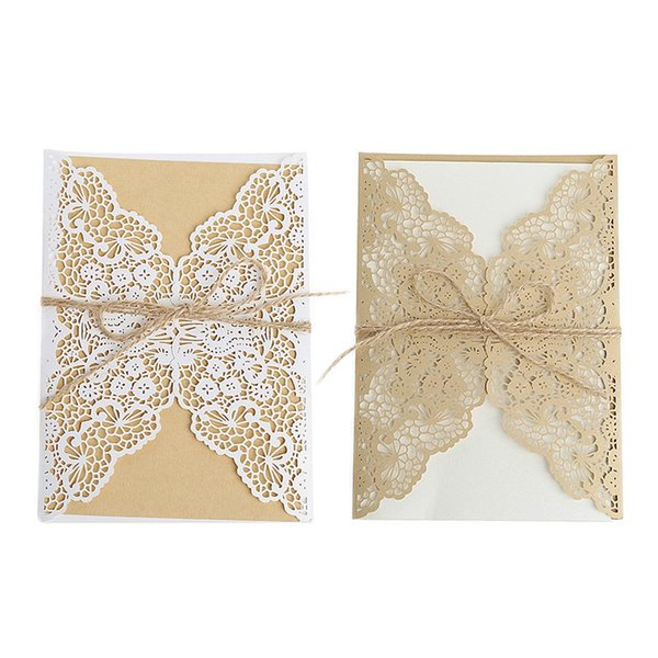 Wedding Invitation Cards Kit With Envelopes Seals Personalized Printing H7ea Birthday Card Designs Birthday Card Free Online From Hobarte 44 73