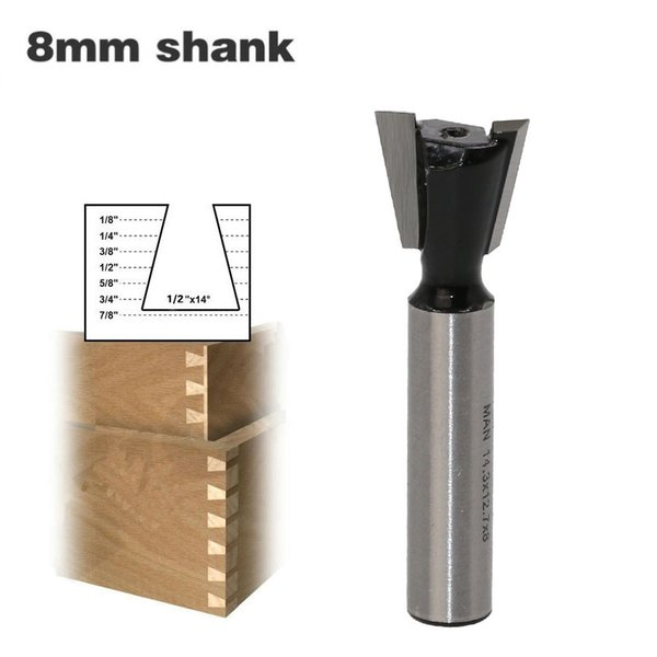 2019 8mm Shank Dovetail Milling Cutters Industrial Grade Tungsten Router Bits For Wood Carving Woodworking Tools From Topyuan 5 99 Dhgate Com