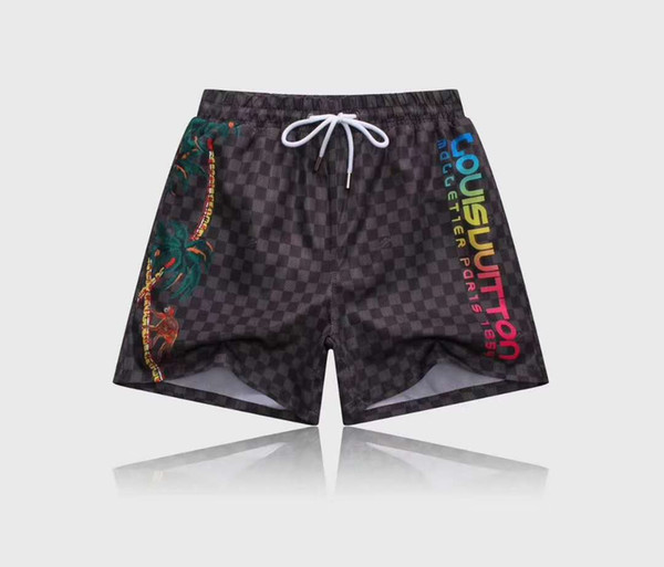sale 2018 Wholesale-Summer Men Short Pants Brand Clothing Swimwear Nylon Men Shorts Swim Wear Board Shorts