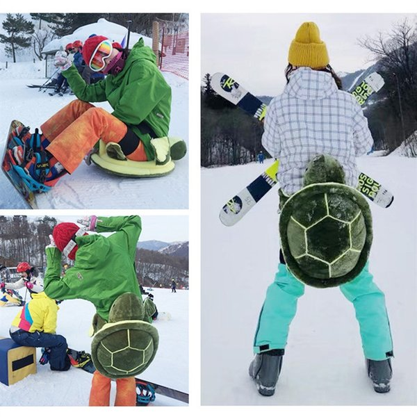 Outdoor Sports Skiing Skating Hip Protection Adult Kids Snowboard Protection Ski Gear Children Sports Safety Knee Pad Hip Pad #555912