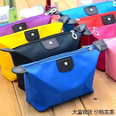beautiful foldable makeup bag cute purse large cosmetic bag customize logo Water Resistant in stock quckily delivery