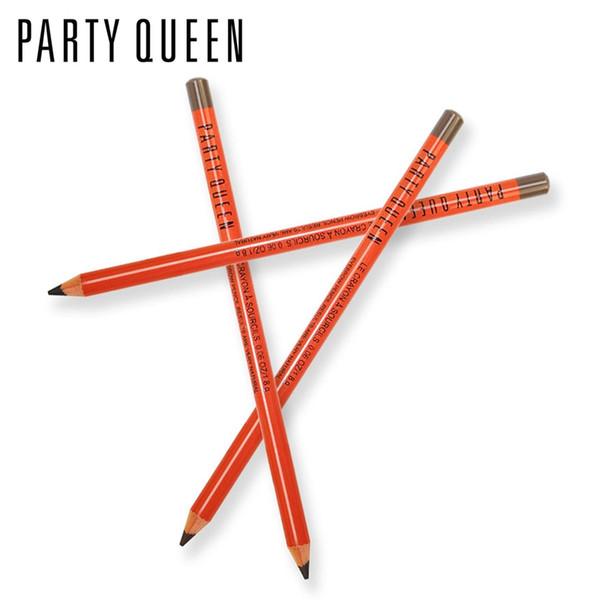 Party Queen makeup crayon eyebrow pencil waterproof natural dark brown color eye brow pen pomade long lasting eye tool PB02