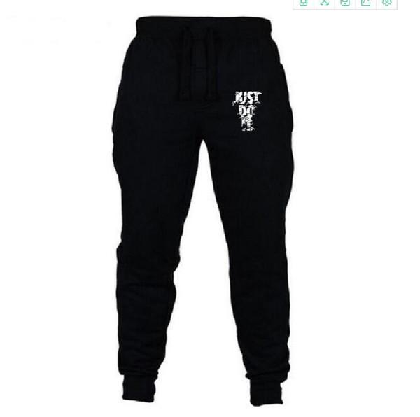 Wholesale-Fashion Biker Joggers Jogging Slim Fit Skinny Sweatpants Harem Pants Man Hip Hop Swag Clothes Clothing Men Gray Black Kanye West