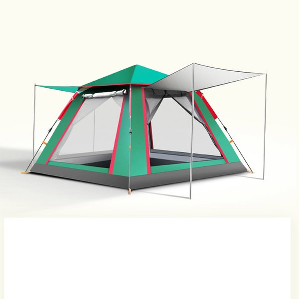 Tanxianzhe Camping en plein air automatique tente étanche anti-UV 2 3 personnes