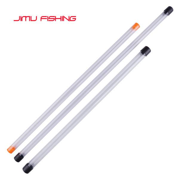2 pz / lotto tubo galleggiante da pesca + 2 pz tubo regalo da pesca bobber PVC boa protezione tubo di stoccaggio portatile boya tubo attrezzatura