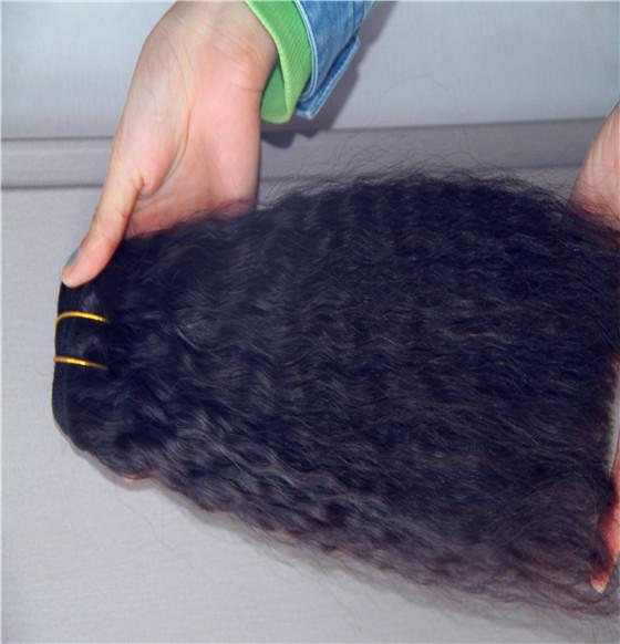 Jet Black Color Peruvian Yakin Straight Hair Bundles 100% Human Hair Weave 10-30 Inchs Non Remy Hair Weave Extensions