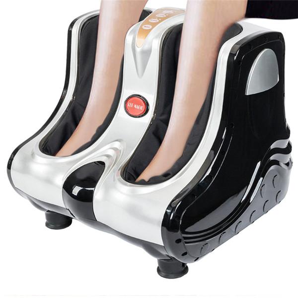 Masajeador eléctrico de pies Calentamiento Rodilla Pierna Becerro Muslo Aparato de masaje Belleza saludable ABS Masaje Cuidado de la salud Masajeador corporal EE. UU. Entrega