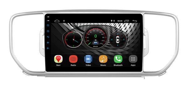Radio WiFi da 9 pollici Android 8.1 KIA KX5 2016 Quad Core 2GB RAM 1024 * 600 GPS per auto