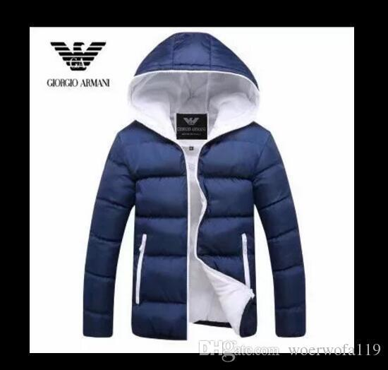 Giacca invernale da uomo fashion down down giacca da uomo firmata da uomo Cappotto di marca per uomo Parka Plus di alta qualità AMN01-09