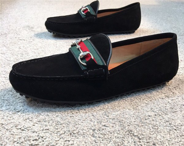 Nuovi stilisti di lusso casual da uomo scarpe da uomo di marca fashion designer scarpe da guida moda scarpe taglia 38-45