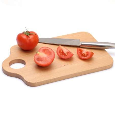 Wooden Mini Cutting Board Antibacterial Eco-Friendly Natural Wood Chopping Block Home Use Fruits/Cake Plate Bread Board