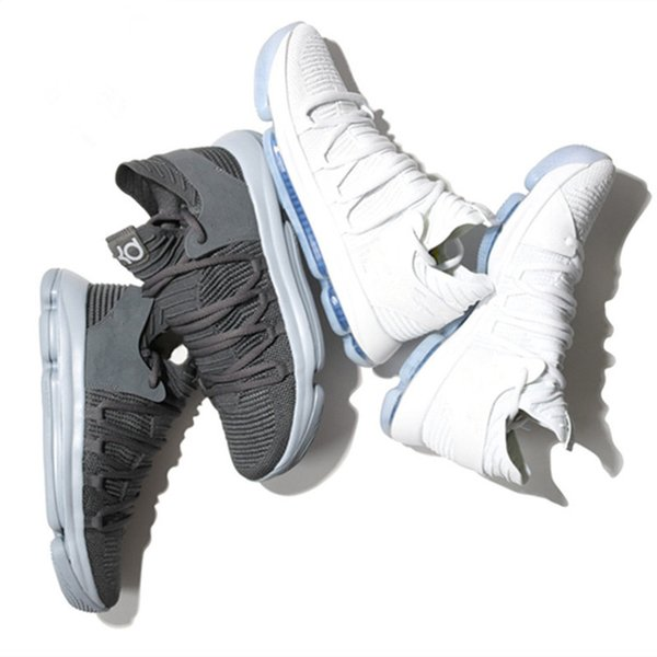 a35016471e3 KD 10 Multi-Color Oreo Numbers BHM Igloo Mens Basketball Shoes KD 10 X  Elite Mid Kevin Durant Sport Sneakers