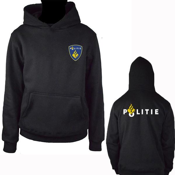 Niederlande Politie Special Swat Unit Force Männer Hoodies Fashion Fleece Hoody Sweatshirt Jacke Harajuku Streetwear