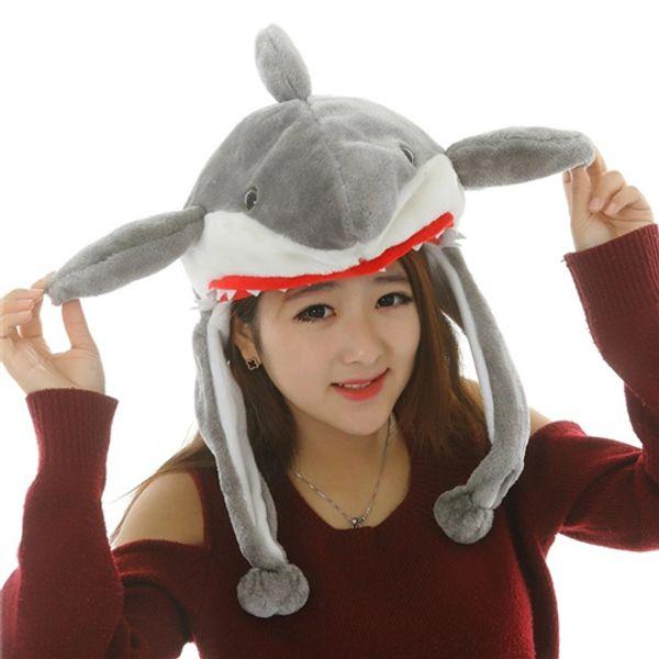 Cute Plush Cartoon Animal Hats Scarf Adult Child Winter Fluffy Warm Character Earflap Cap Beanies Novelty Boy Girl Hat Skullies