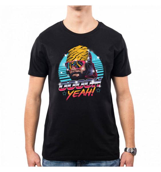 Manicotto estivo da uomo manica corta in cotone regalo Oh Yeah Macho Crew Neck Shirts