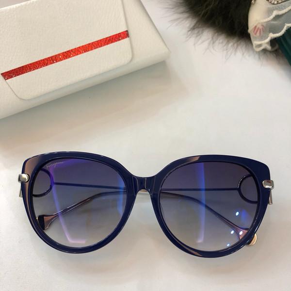 Luxury 2019 New Sunglasses Women Brand Retro Cat Eye Sunglasses High Quality Brand Designer Sunglasses Famous Brand Womens Sun Glasses