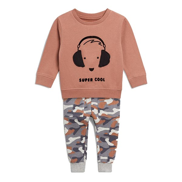 a599eb6621394 2019 Baby Boys Clothes Children Clothing Sets Boys Sweatshirts+Pants Kids  Back To School Outfits Autumn Winter Toddler Boy Tracksuits From Cynthia11,  ...