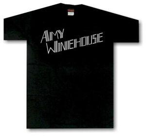 Amy Winehouse Music Tribute T-shirt