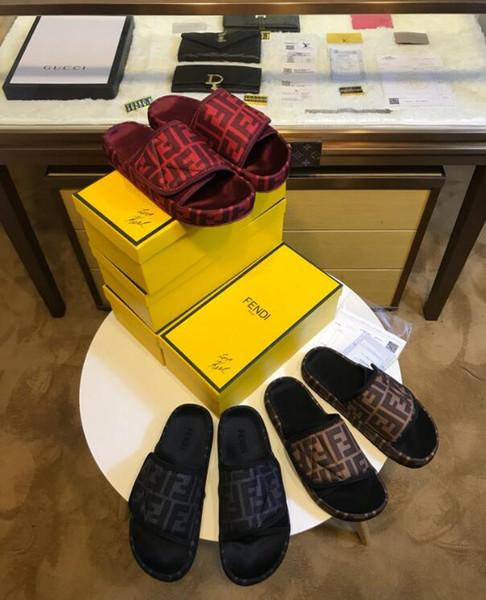 2019 ff Yeni moda kadın sandalsFashion Sandalet Bohemian Elmas Terlik Kadın Flats Çevirme Ayakkabı Yaz Plaj Sandalet