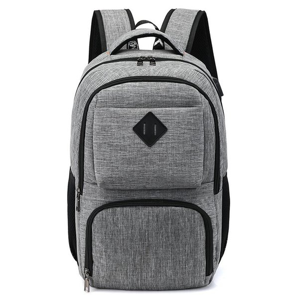 Brand Men Backpack Travel Comfort Fashion Urban Male Backpack for 15.6inch Laptop Breathable Rucksack Mochila School Bag BagpackMX190903