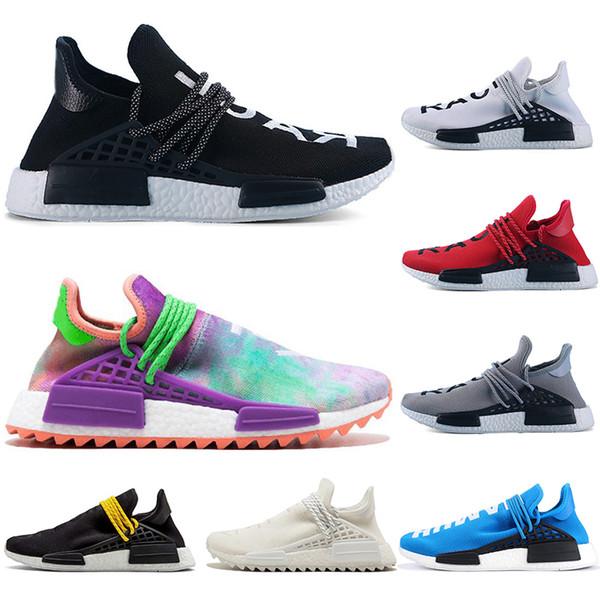 Probe Pharrell Nerd Schuhe Großhandel Blank NMD RUNNER Socken Williams Kreide Canvas Sport Human Schwarz Mens Mit Neue Adidas Race Originals Running W2DI9HYE
