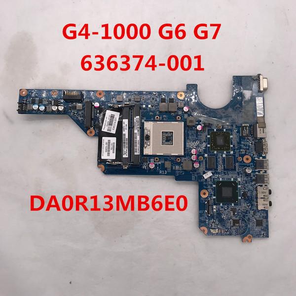 High quality for Pavilion G4-1000 G6 G7 Laptop motherboard 636374-001 636374-501 636374-601 DA0R13MB6E0 Pga 989 Hm65 100% full Tested