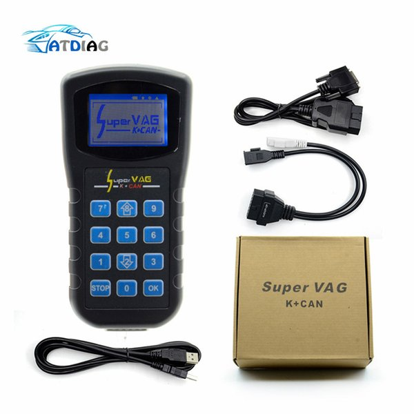 Supe VAG K+CAN V4.8 Super VAG K CAN 4.8 Odometer Correction Tool Airbag Reset tool Key programmer For AUDI VW Skoda vag k