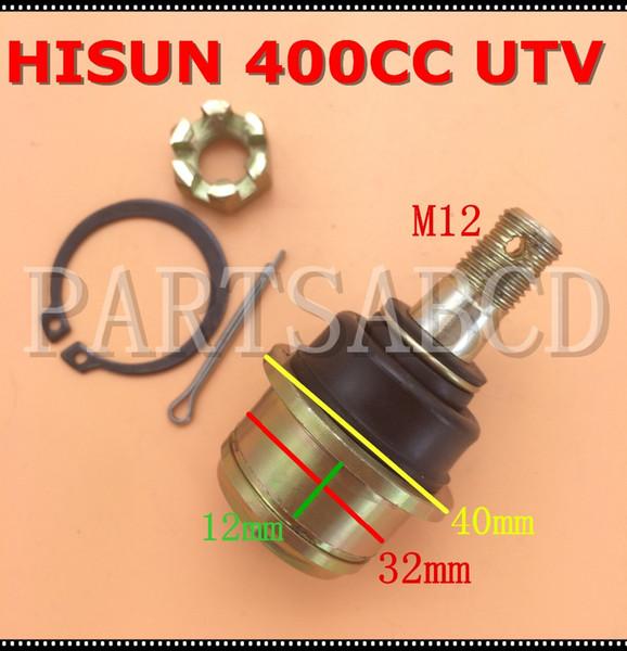 best selling Hisun 400CC UTV ATV Quad Universal Joint For Rocker Tir Rod end Ball Joint Hisun Parts 62410-103-0000
