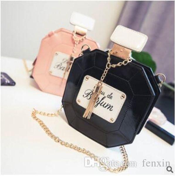 Hot Girls Baby Toddler Metal Chain Buckle Handbag Kids Shoulder Bag Children  Crossbody Bag Purse women Perfume bottle mini bag 456e5a3e5d7b