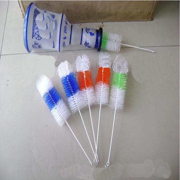 Cam Bong için Çevre Dostu 30cm Su Boruları Temizleme Fırçası Cam Tüp Fırçası Temizleme Araçları Aksesuarlar Su Sigara Borular