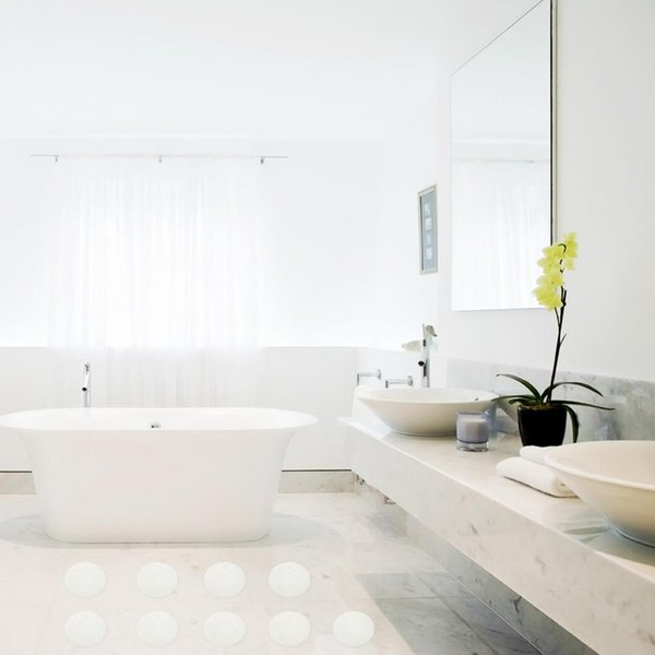 20pcs Anti Slip Bath Grip Sticker Non Slip Shower Strips Flooring Safety Tape US