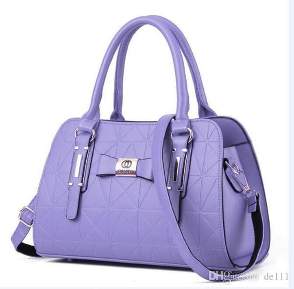 Vintage kahverengi kadın deri çanta lüks tasarımcı omuz çantaları yüksek kalite marka crossbody çanta bayan bolso mujer için Yeni Moda