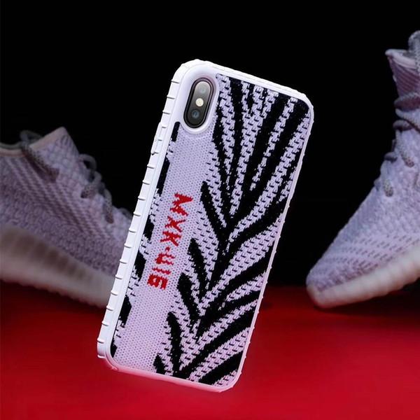 esportivos de luxo sapatos tênis capa de iphone 7 7plus 8 8plus 6 s mais de 11 Pro simulação X XS Max Xr 3D Silicone caso pano capa