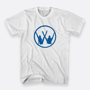 Custom Ladies Girls Cotton Tees Sz S-3XL White Men's T-shirts