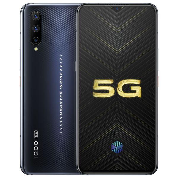 "Original Vivo iQOO Pro 5G LTE Cell Phone 8GB RAM 128GB 256GB ROM Snapdragon 855 Octa Core Android 6.41"" 48MP Fingerprint ID NFC Mobile Phone"