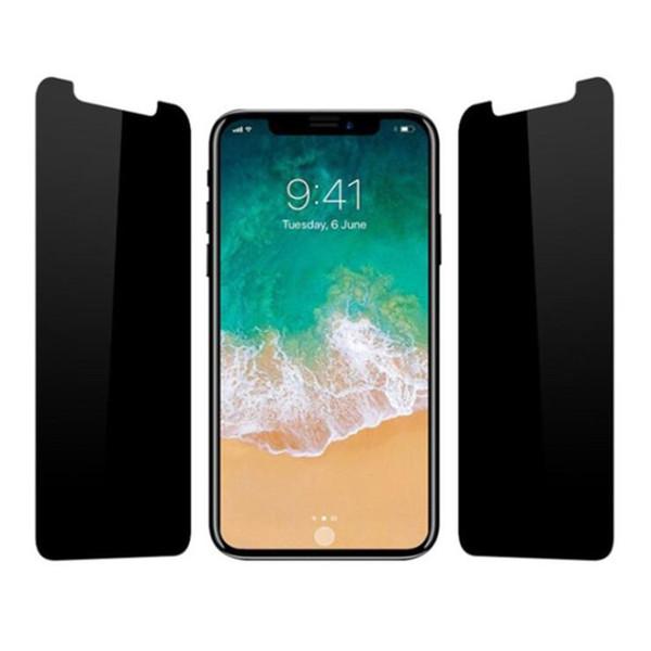 Cep telefonu ekran anti-casus koruma filmi IÇIN: 6 6 S 7 8 X XS XR MAX ARTı tam ekran patlamaya dayanıklı film Parlama önleyici